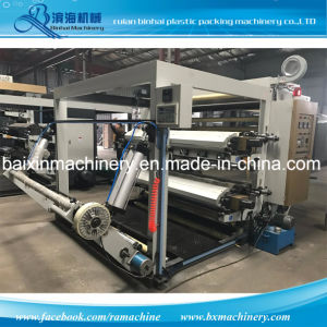 Rolling to Rolling Flexo Printing Machine for PP. OPP pictures & photos