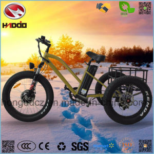 Aluminum Alloy Fat Tire Electric Tricycle with Good Quality pictures & photos