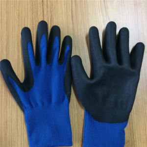 Touch Screen Nitrile Coated Gloves