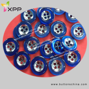 2017 Fashion Shirt Button with Two Color pictures & photos
