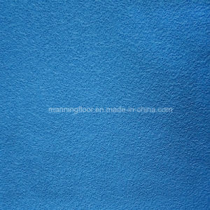 PVC Sports Flooring for Badminton Tennis Sand Pattern-4.5mm Thick Hj301 pictures & photos