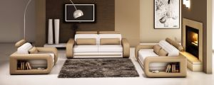 Modern Living Room Sofa Sectional Leather Sofa for Home Sofa Design pictures & photos