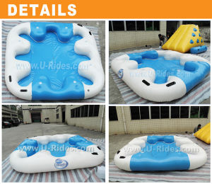 Inflatable Floating Island for Water Park pictures & photos