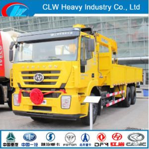 8ton Truck with Crane 10ton Truck Mounted Crane pictures & photos