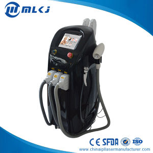 Imported ND YAG Laser Yellow Rod 4 in 1 ND YAG Laser Elight Shr RF Salon Equipment pictures & photos