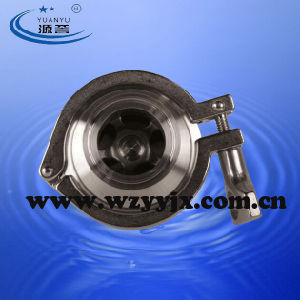 Triclamp Check Valve Sanitary Stainless Steel pictures & photos