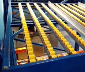 Warehouse Flow Through Racking for Carton Storage pictures & photos