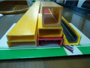 FRP GRP/Fiberglass Pultruded Channel pictures & photos
