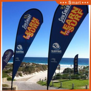 Wholesale Beach Flag for Outdoor or Event Advertising or Sandbeach pictures & photos