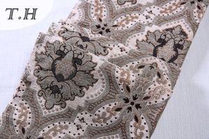 Latest Sofa Fabrics Large Jacquard Pattern Chenille Sofa Fabric pictures & photos