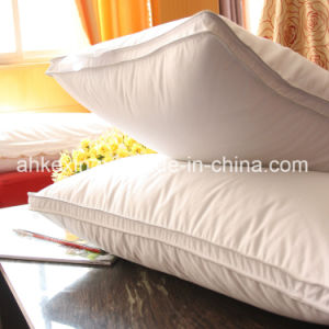 Luxury 50% Grey Duck Down Bed Pillow pictures & photos
