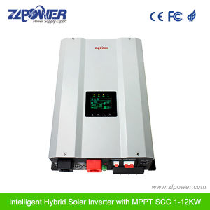 4kw~10kw with Built-in MPPT Solar Charge Controller Hybrid Solar Power Inverter pictures & photos