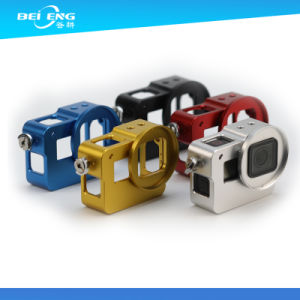 Custom Hard Color Anodized CNC Machining for Gopro Hero 3/4/5 Camera Parts Sport Camera Parts pictures & photos