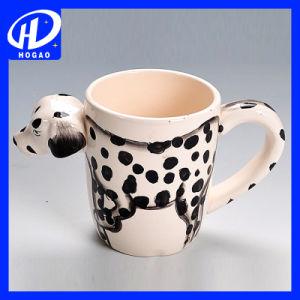 Hand-Painted 3D Animal Frog Cartoon Handle Mug Cup Milk Tea Ceramic Coffee Mug pictures & photos
