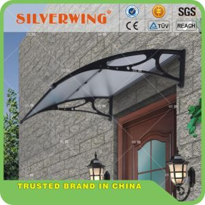 DIY Folding Roof Polycarbonate Sheet Canopy Awnings Bracket for PC Gazebo Outdoor (YY-N) pictures & photos