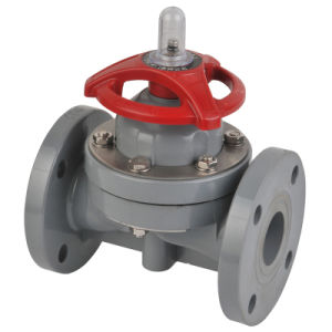 Plastic Diaphragm Valve (G41F-6S) , FRPP Diaphragm Valve pictures & photos