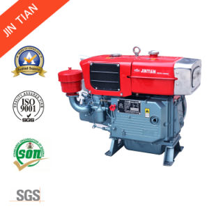 12HP Condenser Four Stroke Cooling Diesel Engine (Zs195nl) pictures & photos