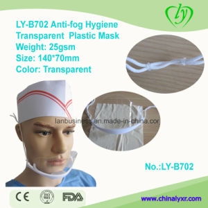 Ly-B702 Anti-Fog Hygiene Transparent Fashionable Plastic Mask pictures & photos
