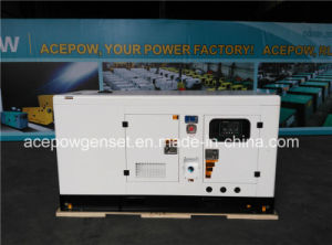Single Phase 60Hz 80kVA Cummins Silent Type Diesel Generator pictures & photos