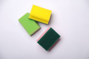 Scouring Pad for Bathroom Cleaning pictures & photos