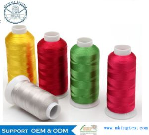150d/1 Viscose Rayon Embroidery Thread pictures & photos