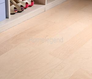 Mulitilayer Wood Flooring Birch Engineered Flooring Cream pictures & photos