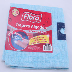 100%Cotton Super Water and Oil Absorbent Pink or Blue Floor Cleaning Cloth pictures & photos