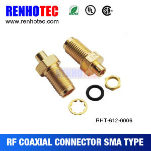Right Angle Crimp SMA Female Connector for Cable Rg174 pictures & photos
