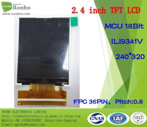 "2.4"" 240*320 MCU 18bit 36pin ODM TFT LCD Display pictures & photos"