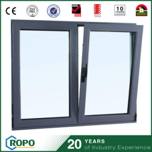 Aluminum Double Glazed Tilt and Turn Window with Fly Screen pictures & photos