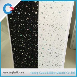 Sparkle Design Hot Stamping PVC Panels for Ceiling Flat PVC Wall Panel pictures & photos