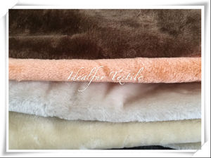 Different Color Polyester Short Pile Fur for Cat Tree pictures & photos