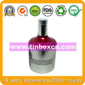 Round Metal Wine Box for Vodka, Whisky Tin Box pictures & photos