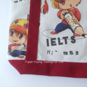 Customized Promotional Tote Organic Cotton Bag pictures & photos