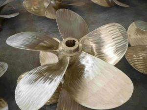 4 Blades Fixed Pitch Marine Propeller for 16500wdt Bulk Carriers pictures & photos