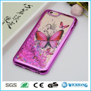 Plating Bling Liquid Sand Case for Apple iPhone 7 Plus pictures & photos