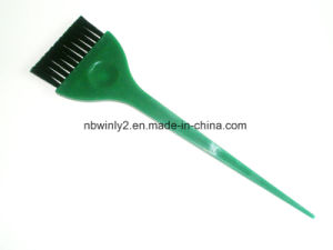 Green Plastic Tint Hair Brush pictures & photos