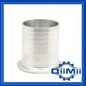 Sanitary Stainless Steel Clamp Hose Coupling Pipe Fitting 3A/DIN/SMS pictures & photos