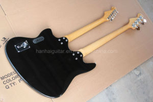 Hanhai Music / Jaguar Style Double Neck Electric Guitar and Bass pictures & photos