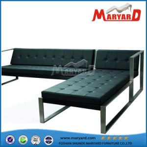 Hotel Outdoor Patio Moden Leather Sofa pictures & photos