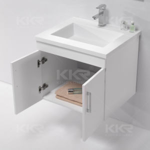 Solid Surface Bathroom Vanity Wall Mounted Basin pictures & photos