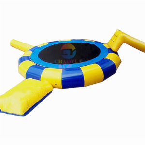 Commercial Inflatable Floating Water Bouncer Trampoline with Ce Pump pictures & photos