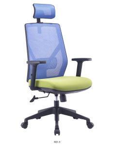 Blue Green Swivel Mesh Gaming Computer Chair pictures & photos