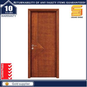 E1 Certificate Custom Interior Exterior Solid Wooden Panel Door pictures & photos