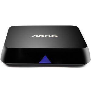 Android 5.1 M8s Kodi Dual-Band WiFi Smart TV Box Television Receiver pictures & photos