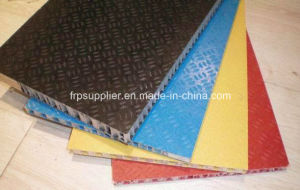 Anti-Skid PP Honeycomb Fiberglass FRP Sandwich Panel pictures & photos
