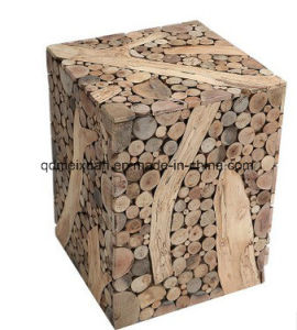 Manufacturers Selling Real Wood Square Stool (M-X3756) pictures & photos