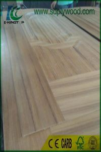 Wood Door /Veneer Door/Interior Door with Teak/Walnut Skin pictures & photos