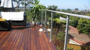 Ce/SGS Simple Custom Glass Balcony Fence for Residential, Commercial and Industrial Construction pictures & photos