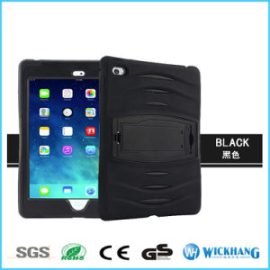 Hybrid Shockproof Rubber Stand Case for Apple iPad Mini Air PRO Tablet pictures & photos